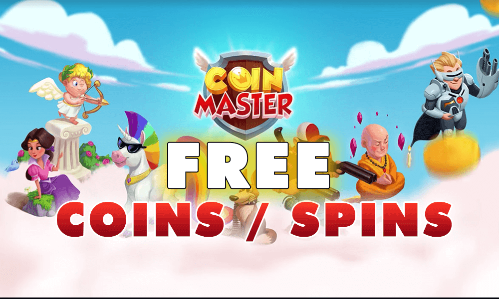 Coin Master Daily Coins and Spins
