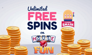 House of Fun, Rawr!  Spin into the NEW RUSH to earn Crowns and Rank Up!  S