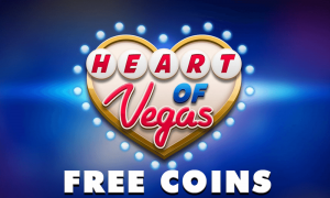 Heart of Vegas!  It's about that time!  Grab your FREE GIFT from Heart of VEGAS and get ready fo
