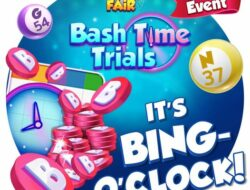 Bingo Bash, Our new event is coming to a close, Bashers
