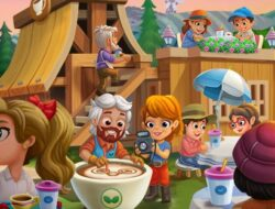 FarmVille 2 More and more guests are going to the coffee tasting event.