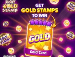 Slotomania, Feelin' lucky today?   Get Gold Stamps for a chance to win a